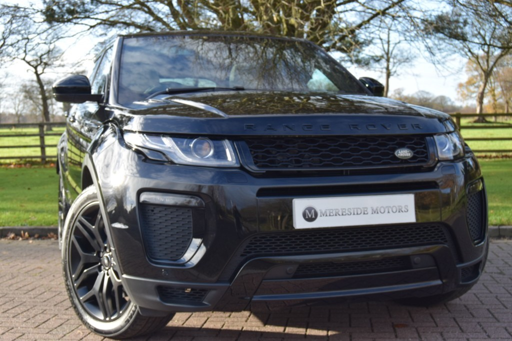 used Land Rover Range Rover Evoque SD4 HSE DYNAMIC in knutsford-cheshire