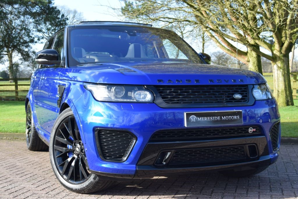 used Land Rover Range Rover Sport V8 SVR in knutsford-cheshire
