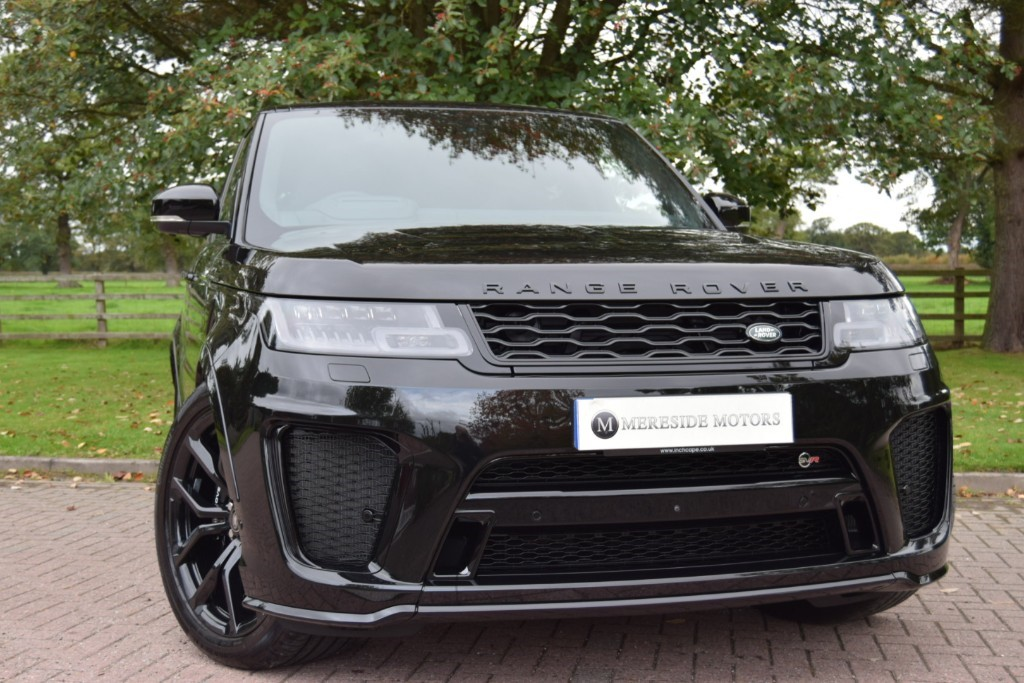 used Land Rover SVR SVR in knutsford-cheshire