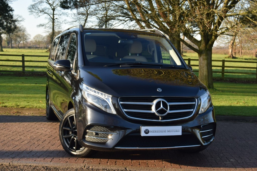 used Mercedes 250 V250D AMG LINE XL in knutsford-cheshire
