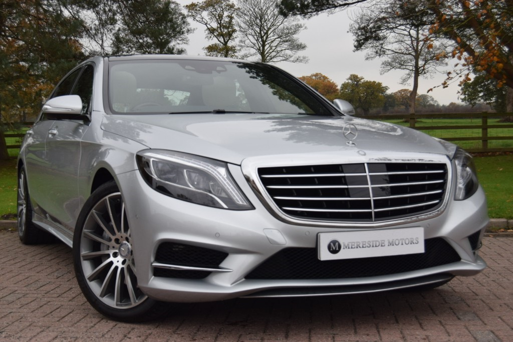 used Mercedes 350 S  D L AMG LINE PREMIUM PLUS in knutsford-cheshire