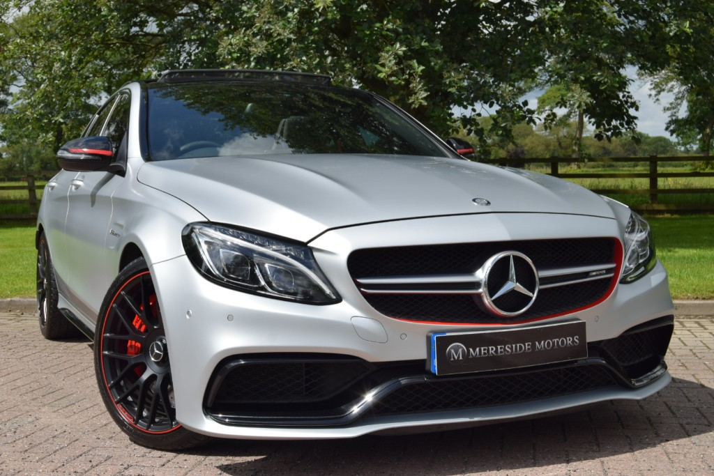 used Mercedes C63 AMG AMG C 63 S EDITION 1 used cars in knutsford-cheshire