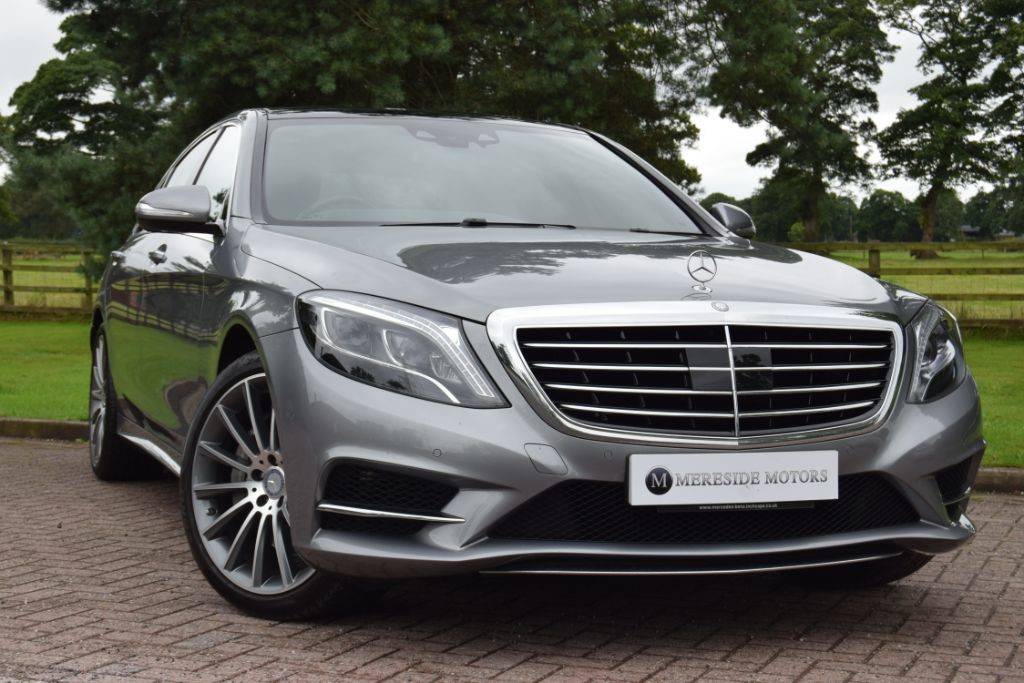 used Mercedes S350 BLUETEC L AMG LINE EXECUTIVE in knutsford-cheshire