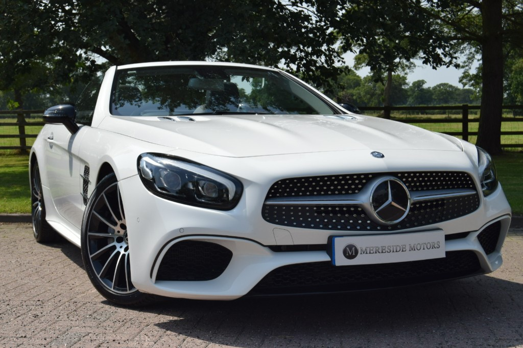 used Mercedes SL SL 500 AMG LINE in knutsford-cheshire