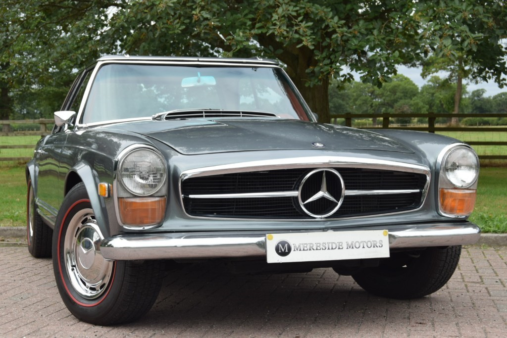 used Mercedes SL280  in knutsford-cheshire