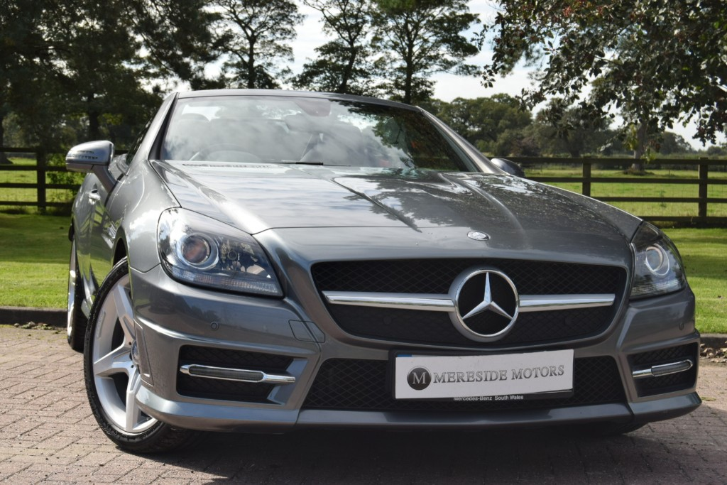 used Mercedes SLK250 SLK 250 D AMG SPORT in knutsford-cheshire