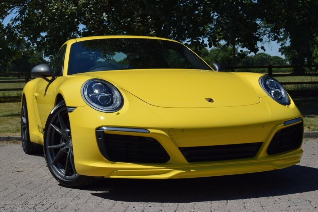 used Porsche 911 CARRERA T in knutsford-cheshire