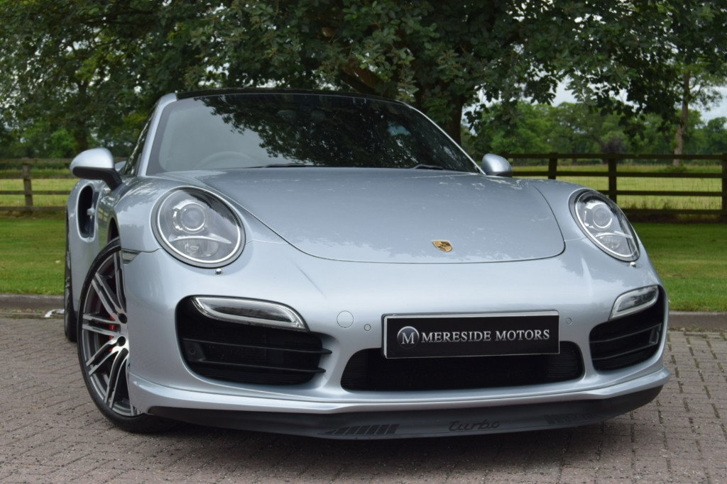 used Porsche 911 TURBO PDK in knutsford-cheshire