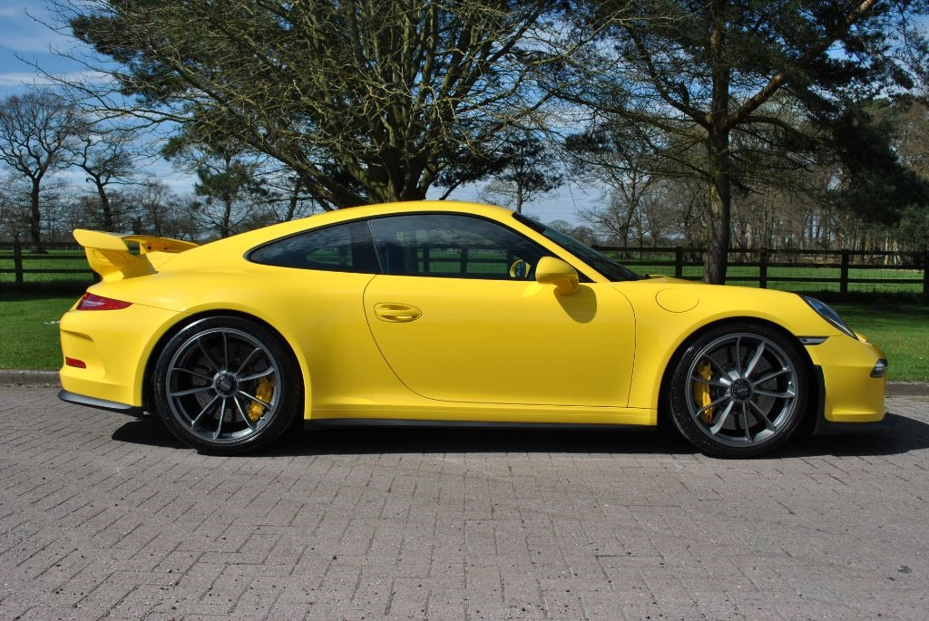 used Porsche 911 GT3 PDK in knutsford-cheshire