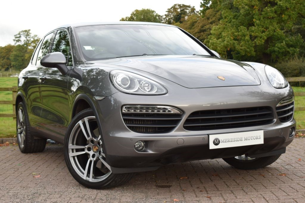 used Porsche Cayenne D V8 S TIPTRONIC S in knutsford-cheshire