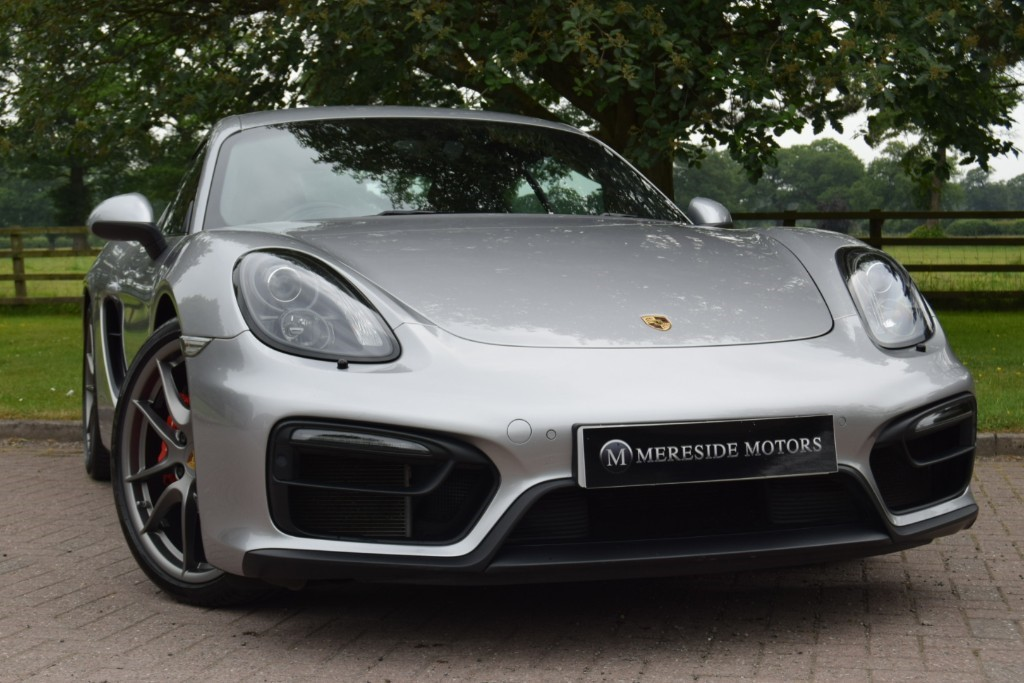used Porsche Cayman GTS PDK in knutsford-cheshire