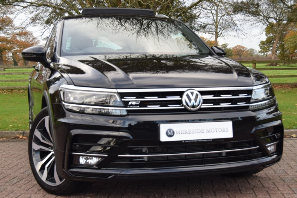 used VW Tiguan R LINE TDI BMT 4MOTION DSG in knutsford-cheshire
