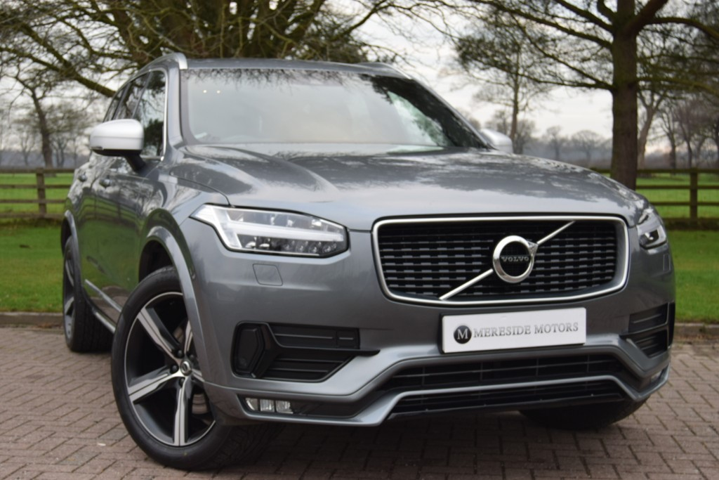 used Volvo XC90 D5 POWERPULSE R-DESIGN AWD in knutsford-cheshire