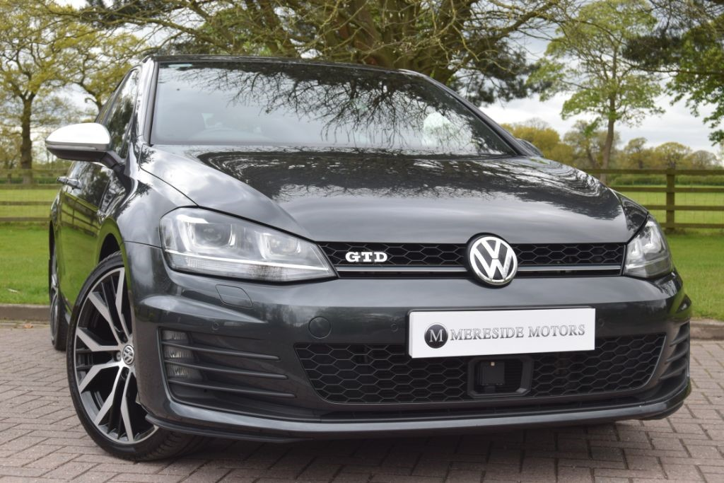 used VW Golf GTD DSG VAT QUALIFYING in knutsford-cheshire