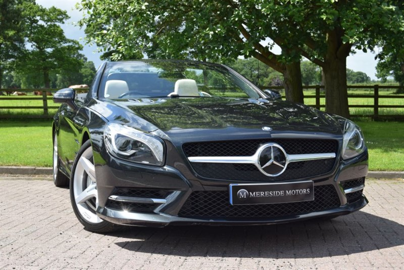 used Mercedes SL SL500 in knutsford-cheshire