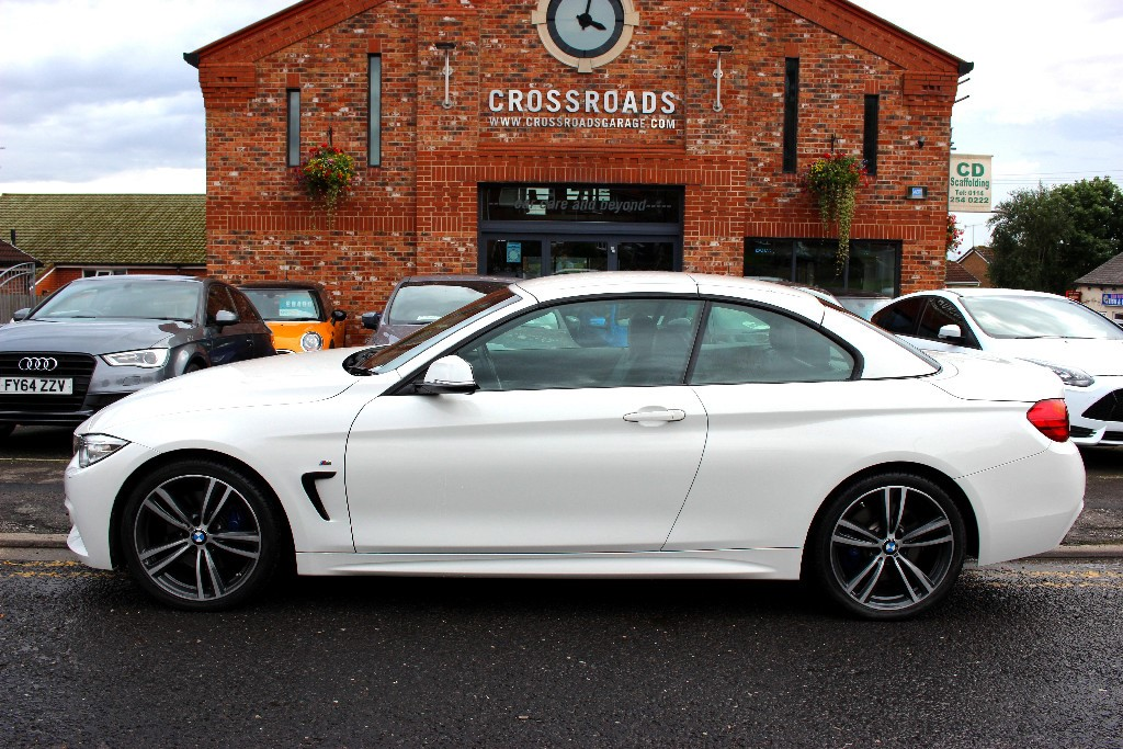 BMW 4 Series 420dM Sport Convertible for sale - Sheffield, South