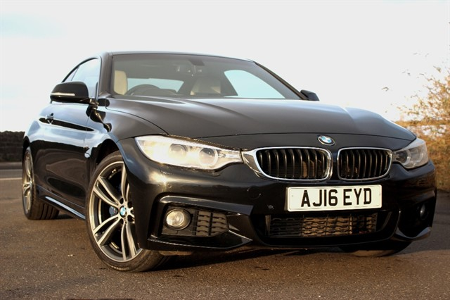 used BMW 420d M Sport xDrive Auto in sheffield-south-yorkshire
