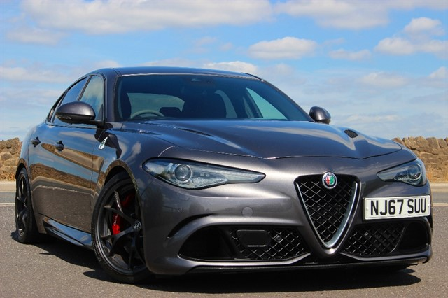 used Alfa Romeo Giulia V6 Quadrafoglio Bi-Turbo in sheffield-south-yorkshire