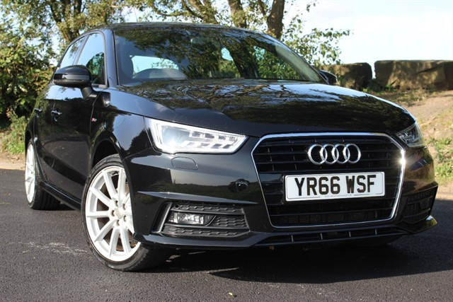 used Audi A1 S Line TFSI Sportback CoD Auto in sheffield-south-yorkshire