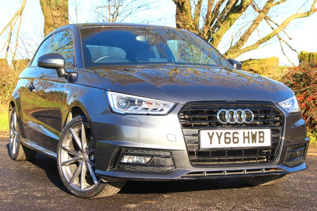 used Audi A1 S Line Black Edition TFSI CoD Auto in sheffield-south-yorkshire