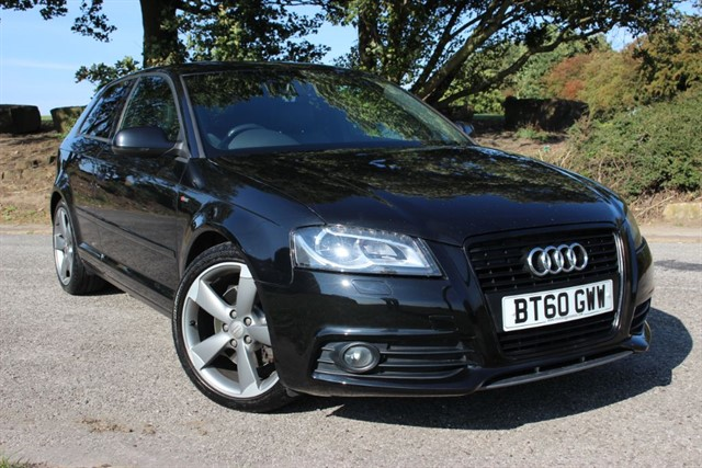used Audi A3 S Line Black Edition TDI in sheffield-south-yorkshire