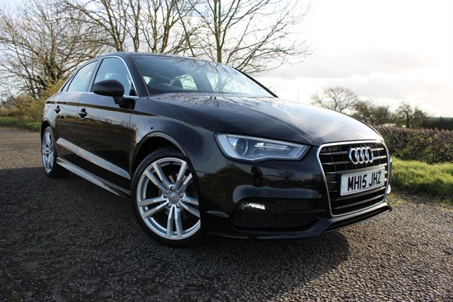used Audi A3 S Line TFSI ACT Saloon in sheffield-south-yorkshire