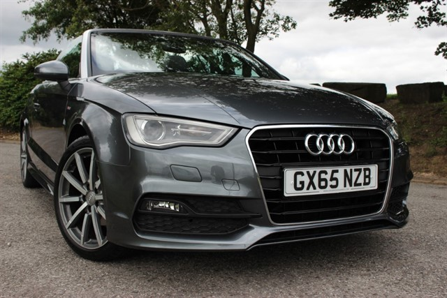 used Audi A3 S Line TFSI CoD Cabriolet in sheffield-south-yorkshire