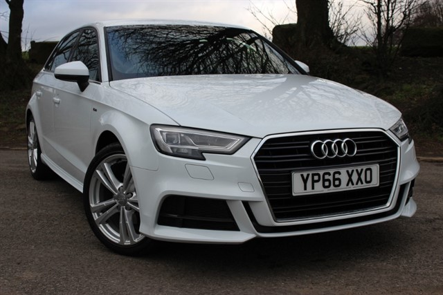 used Audi A3 S Line TFSI CoD - Sat Nav in sheffield-south-yorkshire