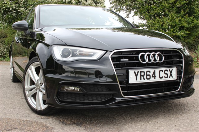 used Audi A3 S Line Sportback TDI Quattro Auto in sheffield-south-yorkshire