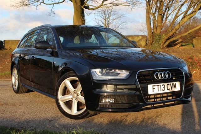 used Audi A4 Avant S Line TDI in sheffield-south-yorkshire