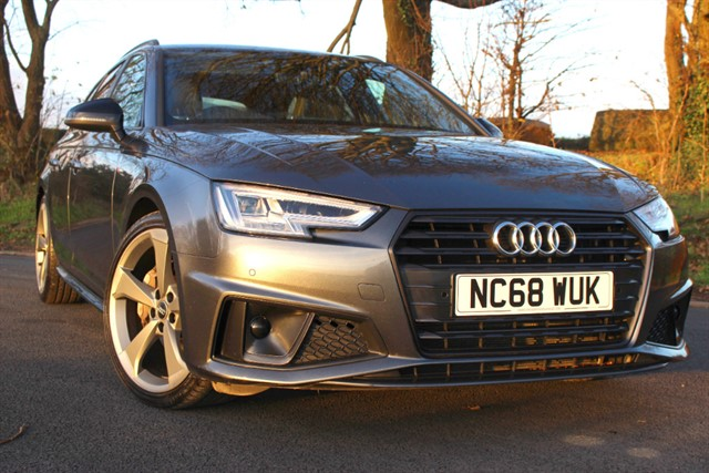 used Audi A4 Avant S Line Black Edition 40 TDI in sheffield-south-yorkshire