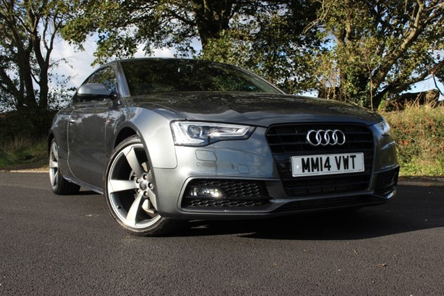 used Audi A5 S Line Black Edition TDI in sheffield-south-yorkshire