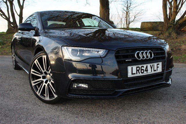 used Audi A5 S Line Black Edition TDI Quattro in sheffield-south-yorkshire