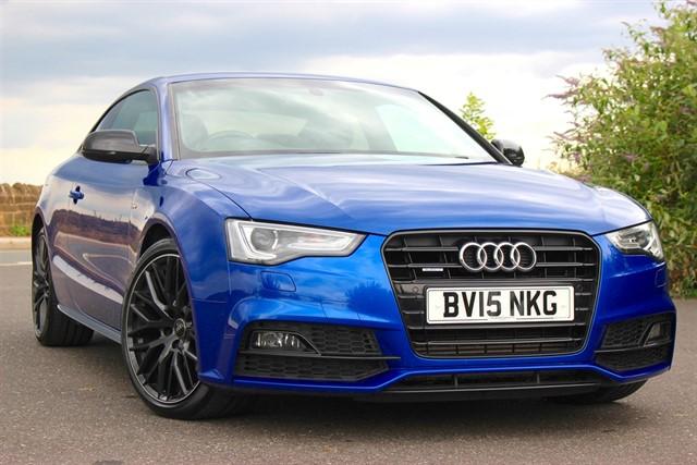 used Audi A5 S Line Black Edition Plus TDI Quattro Auto in sheffield-south-yorkshire