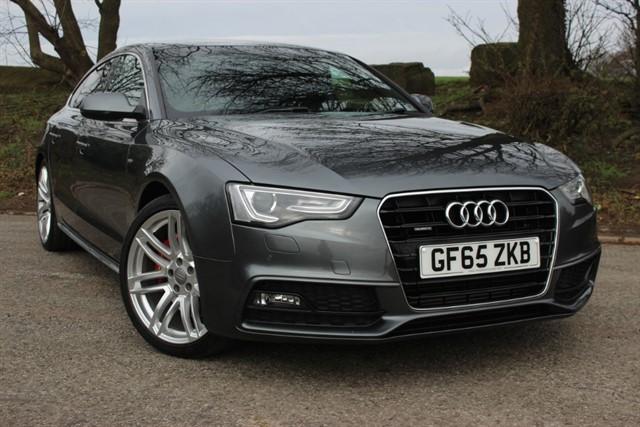 used Audi A5 S Line Quattro TDI Auto - Sat Nav in sheffield-south-yorkshire
