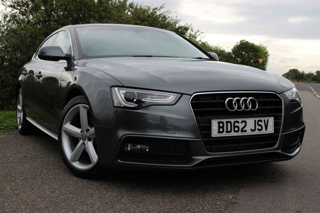 used Audi A5 S Line TDI Sportback in sheffield-south-yorkshire
