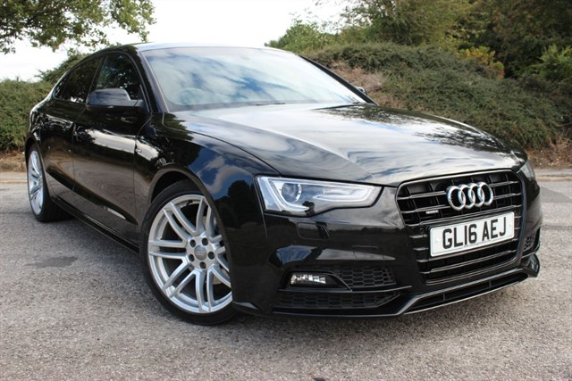used Audi A5 S Line Black Edition Plus TDI Quattro Sportback in sheffield-south-yorkshire