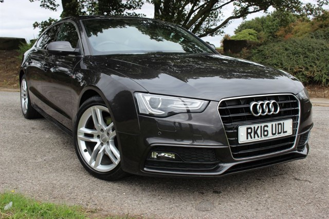 used Audi A5 S-Line TDI Sportback Auto in sheffield-south-yorkshire