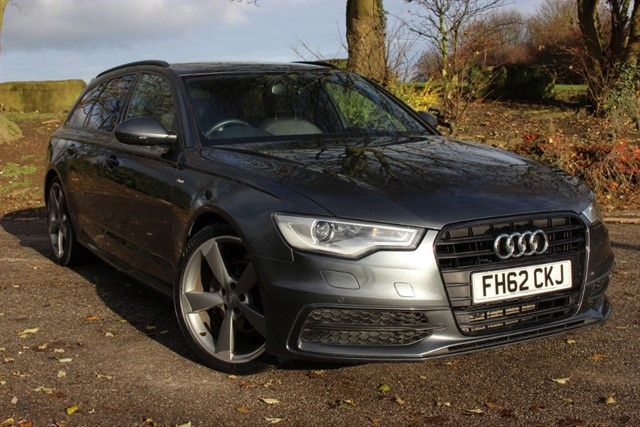 used Audi A6 Avant S Line Black Edition TDI in sheffield-south-yorkshire