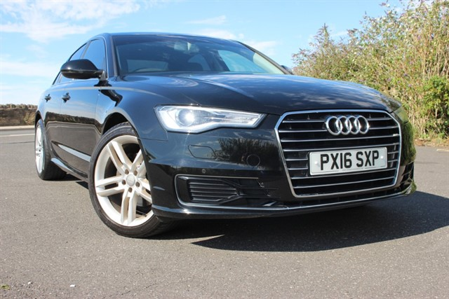 used Audi A6 Saloon SE TDI Ultra Auto in sheffield-south-yorkshire