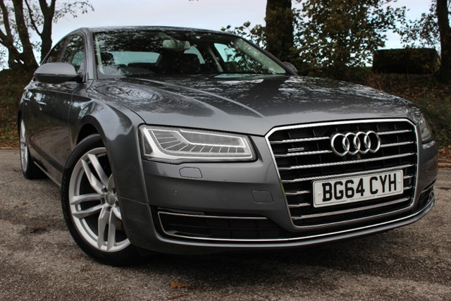 used Audi A8 Sport Executive TDI Quattro Auto in sheffield-south-yorkshire