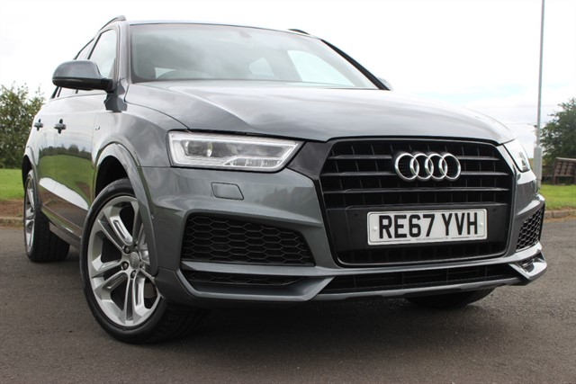 used Audi Q3 S Line Edition Black Pack TFSI CoD Auto in sheffield-south-yorkshire
