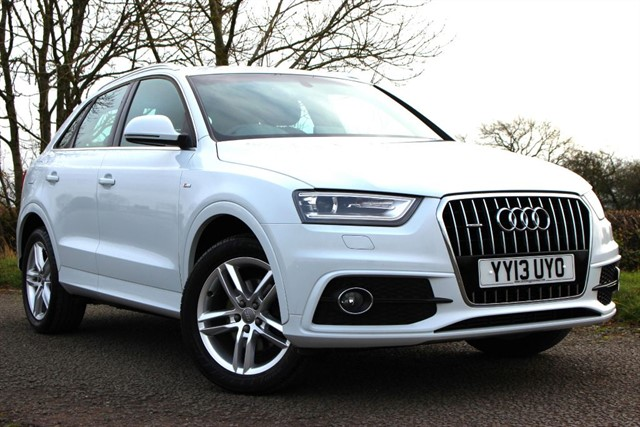 used Audi Q3 S Line TDI Quattro in sheffield-south-yorkshire