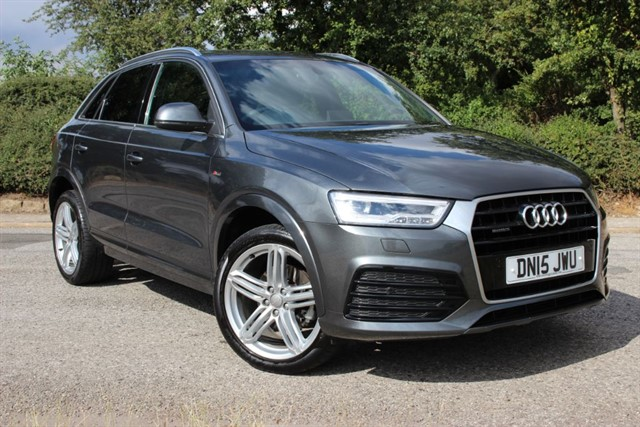 used Audi Q3 S Line Plus TDI Quattro in sheffield-south-yorkshire