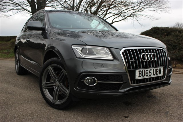 used Audi Q5 S Line Plus TDI Quattro Auto in sheffield-south-yorkshire