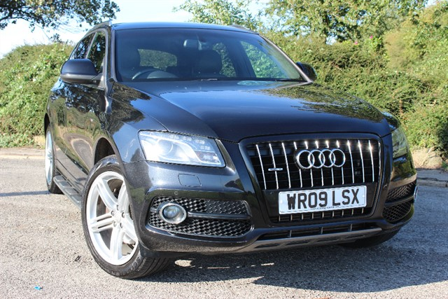 used Audi Q5 S Line TDI Quattro Auto in sheffield-south-yorkshire