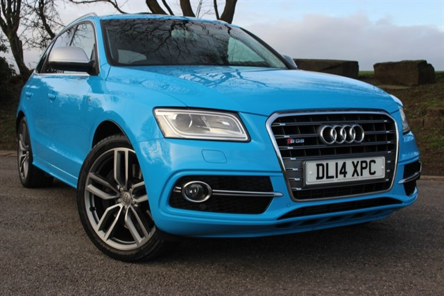 used Audi SQ5 BI-TDI Quattro Auto in sheffield-south-yorkshire
