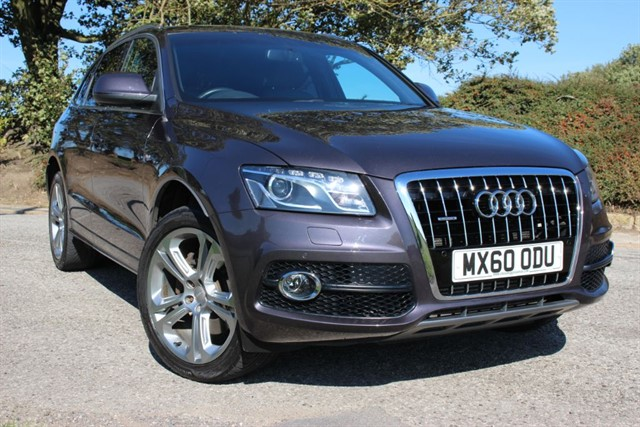 used Audi Q5 S Line Special Edition TDI Quattro in sheffield-south-yorkshire