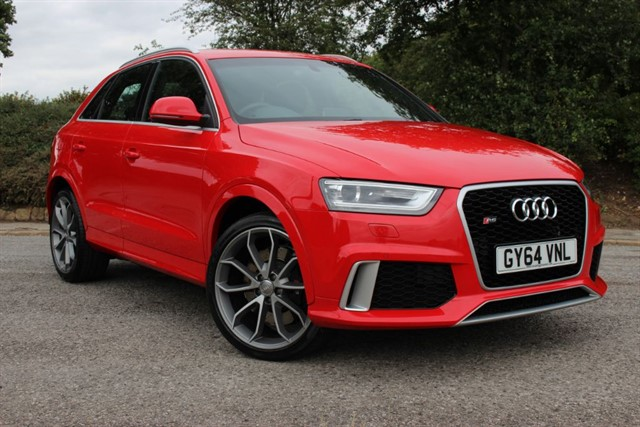 used Audi RS Q3 TFSI Quattro Auto in sheffield-south-yorkshire