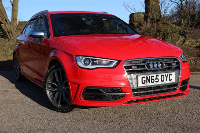 used Audi S3 Quattro Nav TFSI Sportback S-Tronic in sheffield-south-yorkshire